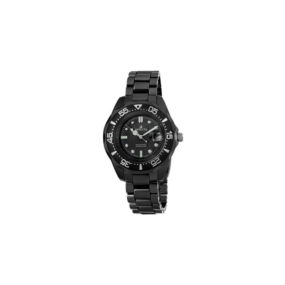 Invicta Mens 4692 Ceramics Pro Diver Black Ceramic Watch