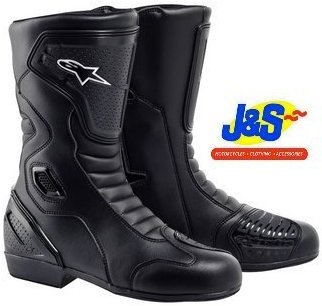 Alpinestars Hydro Drystar Waterproof Motorbike Boot Motorcycle Black Euro 39 / UK 5 J&s