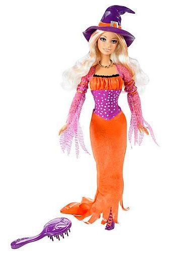 41mN4 fnfRL Buy  Halloween Treat Barbie Doll