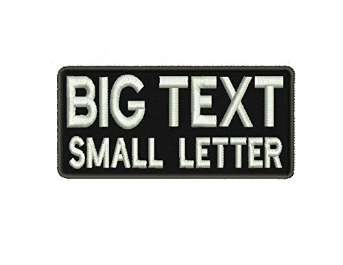 2 Line, Big & Small Letter, Custom Name Tape with Velcro Backing / Personalized Military Name Tapes (Custom Velcro Patch compare prices)