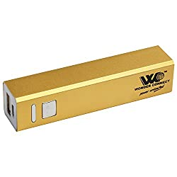 WONDER CONNECT WPB-2601 POWER BANK ORIGINAL CAPACITY 2600 mAh (GOLD)