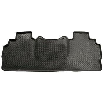 Husky Liners Custom Fit Heavy Duty Back Seat Floor Mat Black