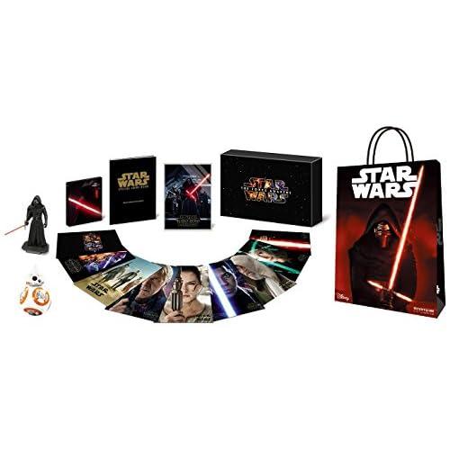 【Amazon.co.jp限定】 スター・ウォーズ/フォースの覚醒 MovieNEXプレミアムBOX [ブルーレイ+DVD+デジタルコピー(クラウド対応)+MovieNEXワールド] (BB-8グリーティングカード+「スター・ウォーズ/フォースの覚醒」スペシャルショッピングバッグ付) [Blu-ray]