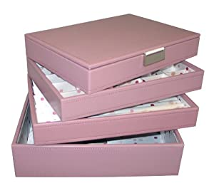 Stackers Pink - Medium Set of 4 Layers