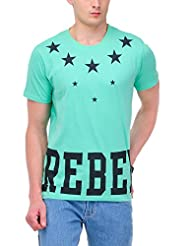 Yepme Men's Graphic Cotton T-shirt - B00O32OSYK