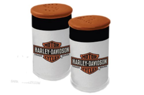 Harley-Davidson Trademark Logo Salt & Pepper Set