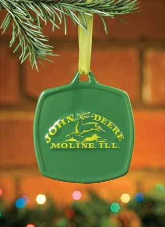 John Deere Christmas Ornament 1876 Vintage Logo #615862