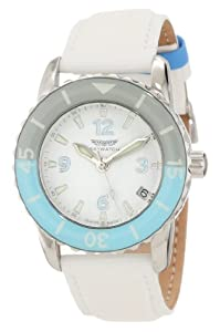 Skywatch Women's Classic Analog Epoxy Bezel Swiss-Made Watch