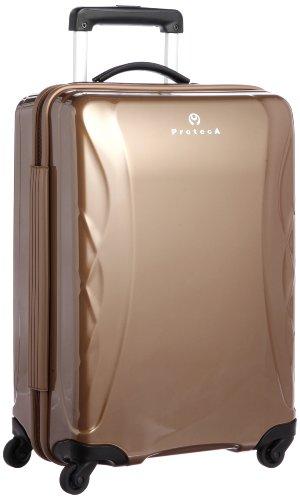 [プロテカ] ProtecA ラグーナライト スーツケース 50cm・34リットル・2.5kg 【もしも保証対象商品(14/6/1~8/31まで) ※Amazon.co.jpでお買上げの場合、修理票はお買上後14日前後でメール送信)】 02217 13 (パームブラウン)