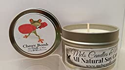 Cherry Bomb -4oz All Natural Soy Candle Tin