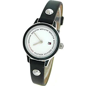 Tommy Hilfiger Leather Strap White Dial Women's watch #1781093