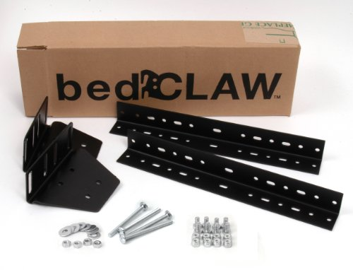 Lowest Price! Bed Claw Universal Footboard Attachment Kit, with Combo Bag Hardware
