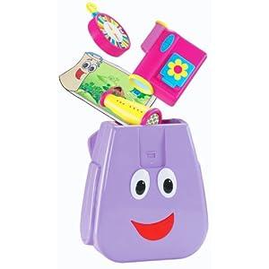 Amazon.com: Fisher-Price Dora the Explorer My Talking Backpack: Toys