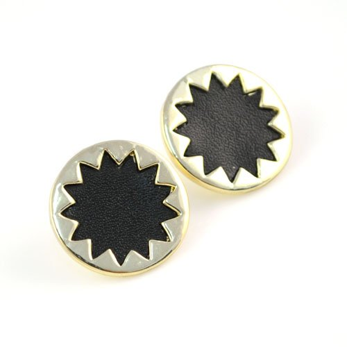 Golden Sun Flower Stud Earring,er-534