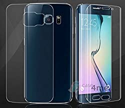 SAMSUNG GALAXY S6 EDGE FULL BODY 360 SCREEN GUARD SCREEN PROTECTOR SCRATCH GUARD WITH 30 DAYS MONEY BACK GUARANTEE FROM TISEC BY NANDA STORE