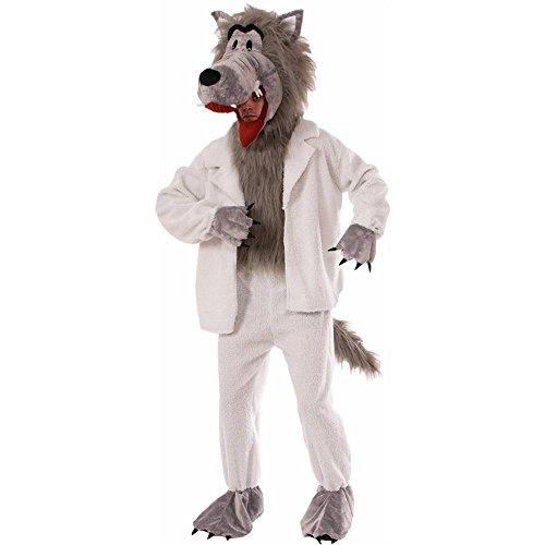 Wolf in Sheep's Clothing Mascot Adult Costume - Standard