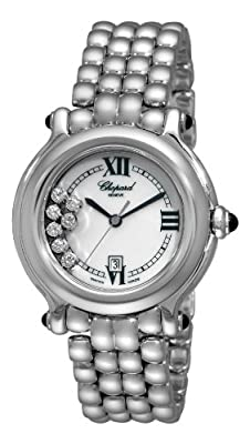 Chopard Women's 278236-3016 Happy Sport Mother-Of-Pearl Dial Watch