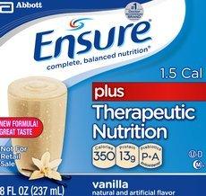 Dss Ensure Plus (Institutional) Therapeutic Nutrition Shake Strawberry / 8-Fl-Oz (237-Ml) Bottle