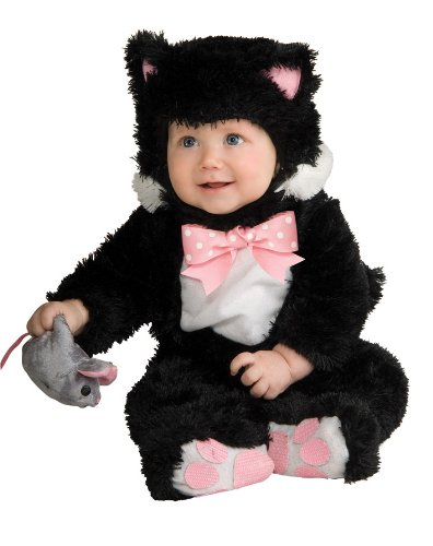 Baby Black Cat Costume Size 6-12 Months