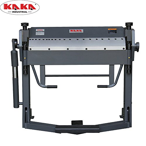 KAKA Industrial PBB-4012 40-Inch Pan and Box Brake Foot Clamp, 12 Gauge Mild Steel, High Accuracy, Great Durability, Easy Operation Sheet Metal Folding Machine