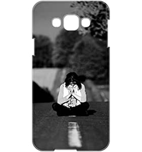 a AND b Designer Printed Mobile Back Cover / Back Case For Samsung Galaxy E7 (SG_E7_3D_2246)