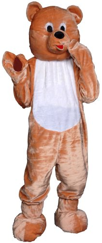 Teddy Bear Mascot Costume-Size Adult one size fits most