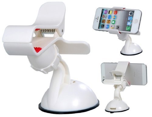 Universal-Car-Mount-Cradle-Holder-Windshield-Mobile-GPS-Suction-Holder-Stand-Clip-Type