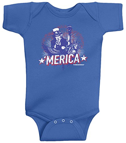 Patriotic Baby Clothes front-345174