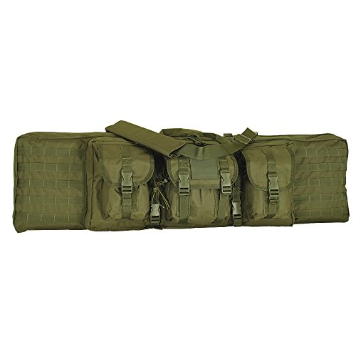 """Enhanced Voodoo Tactical 42"""" MOLLE Soft Rifle Case, Padded W"""