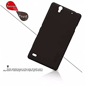 AE Super Frosted Shield Back Cover Case for Sony Xperia C4 E5303 (Black)
