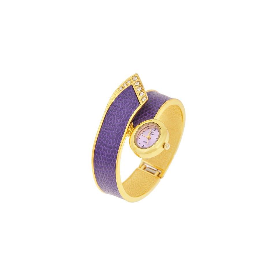 Womens Quartz Watch, Fashion Bangle Bracelet Alloy Quartz Watch
