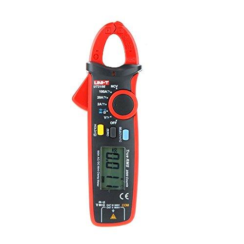 Mètres UNI-T UT210E Vrai RMS AC / DC Current Clamp Mini w / Capacitance Tester mesurer VFC