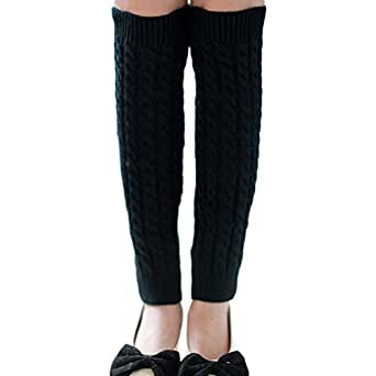 Nanxson(TM) Women's Knee High Knit Crochet Warmer Legging TTW0003