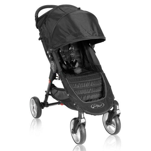 Baby Jogger City Mini 4 Wheel Single Stroller - Black front-765976