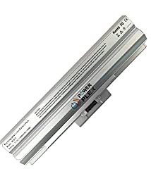 POWER PLEX Laptop Battery for Sony VAIO VPCM125JC/W SILVER