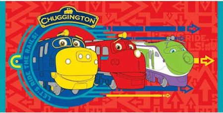 Chuggington Traintastic Train Kids Beach Bath Holiday Towel