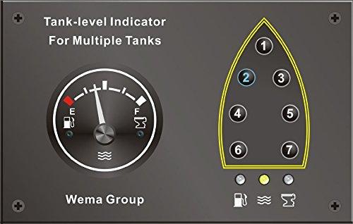 WEMA USA UP7B-Wfh-240-33 P7 Multifunctional Fuel Tank (Wema Fuel Gauge compare prices)