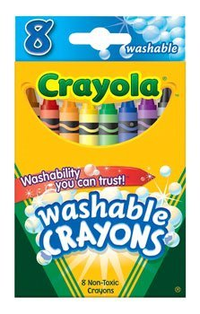 Crayola Washable Crayons 8 ct.