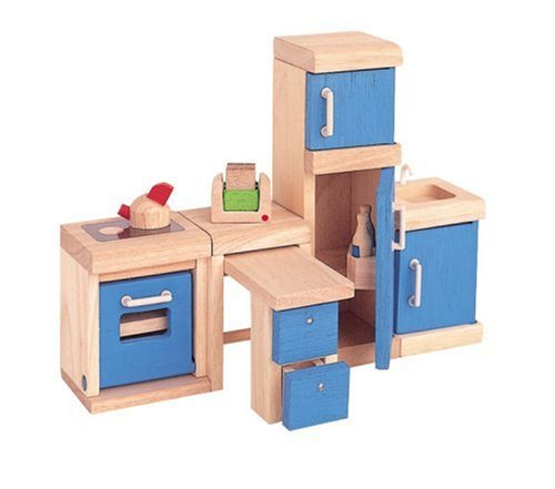 Plan Toy Doll House Kitchen - Neo Style