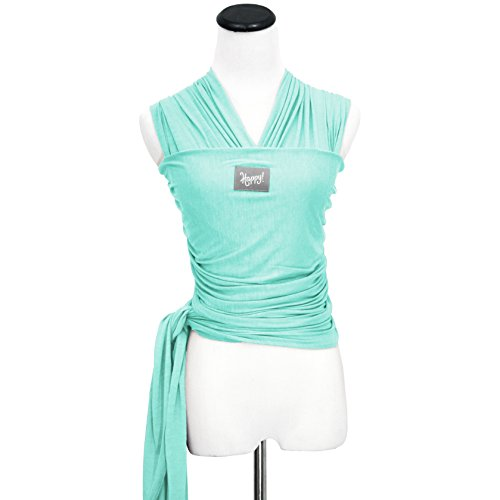 Sale!! Happy Wrap Organic Baby Carrier, Seafoam