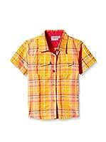 CMP Camisa Casual 3T56555 (Naranja / Rojo Claro)