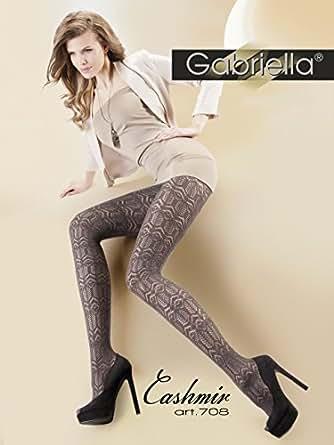 Gabriella Excitant Collants pour Dames GB 338 200 DEN (Inox, 2 (32-36))