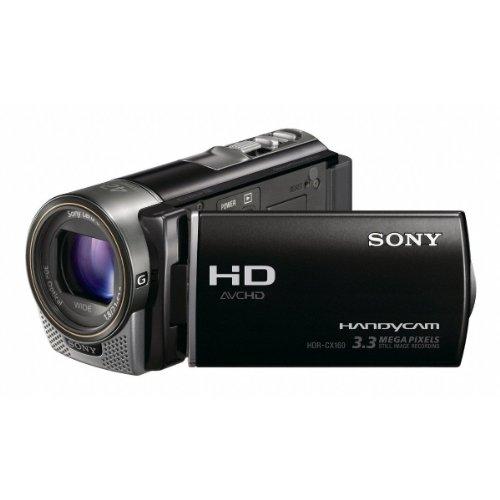 Sony HDR-CX160 High-Definition Handycam Camcorder (Black)