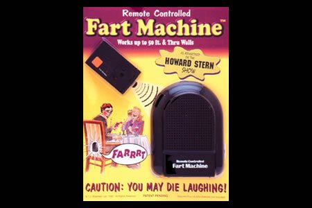 T.J. Wiseman Remote Controlled Fart Machine No. 2 (Remote Controlled Fart Machine compare prices)