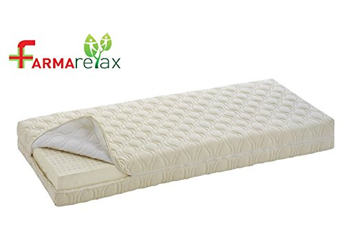 Materasso Puro Lattice 100% Sfoderabile cm.18 Farmarelax