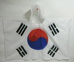 フラッグポンチョ 韓国