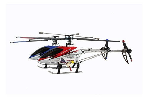 Radio Control 3ch 9104 GYRO Helicopter with metal frame and latest single blade tech
