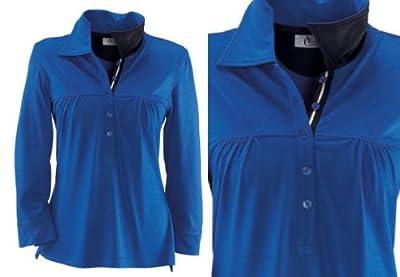 VIVIEN CARON Poloshirt Babydoll Shirt