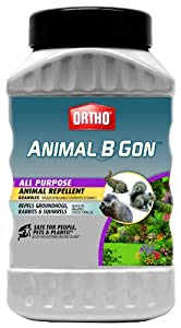 Ortho 489910 Animal-B-Gon All Purpose Animal Repellent Granules, 2-Pound