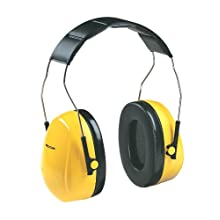 3M Peltor Optime 98 Over-the-Head  Earmuffs, Hearing Conservation H9A (Pack of 1)